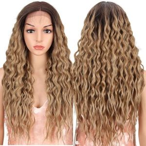 """💕Synthia  BROWN OMBRÉ 26"""" LACEFRONT  WIG 💕 * NWT"""